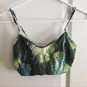 ARITZIA TNA ✨ Palm Tree Crop Tank Top